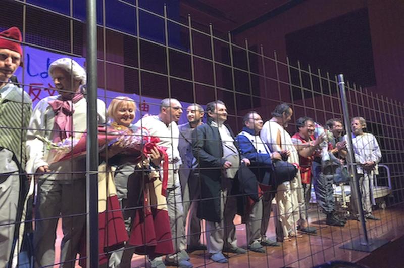 """MARAT E SADE IN TOURNÉE IN GIAPPONE <br>    <span> Il teatro di  """"Arte e Salute"""" fa scuola alla psichiatria  nipponica</span>  <br> 🔊  Puntata 565"""