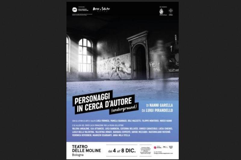 PERSONAGGI IN CERCA DI AUTORE (UNDERGROUND) <br>    <span>  Alta formazione a teatro  </span>  <br>