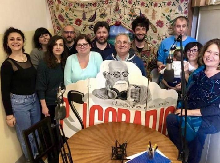 PSICORADIO FA LEZIONE  <br>    <span>  Il corso di giornalismo sociale di Piazza Grande </span>  <br>