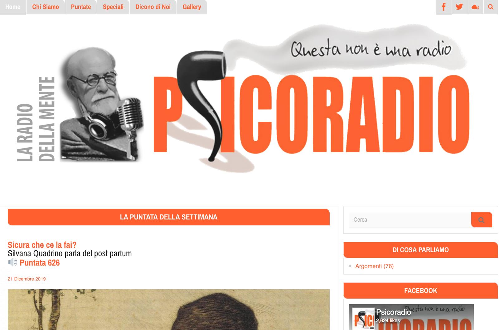 PIÙ PSICORADIO PER TUTTI! <br>    <span>  Anno nuovo, sito nuovo!  </span>  <br>