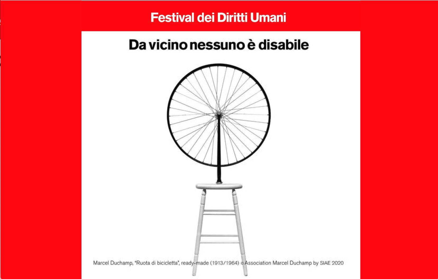 Da vicino nessuno è disabile <br>    <span>  Il Festival dei diritti umani</span>  <br> 🔊    Puntata 635